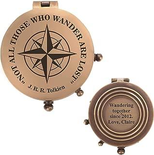 Best custom engraved compass Reviews