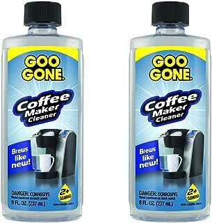 Goo Gone Coffee Maker Cleaner, 8 Ounce (2-Pack)