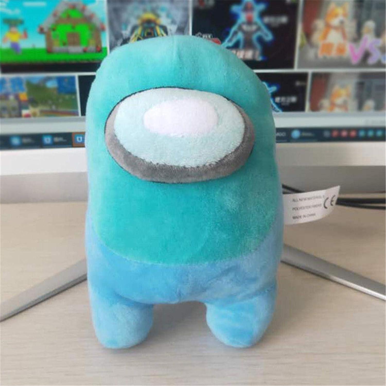 Soft Plush Among Us Plush Among Us Game Plush Toy with Music Kawaii Stuffed Doll Cute Small Among Us Plushie 1pcs