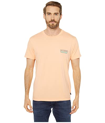 Billabong Badge Short Sleeve T-Shirt (Cantaloupe) Men