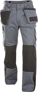 Dassy PESCO61 Pantalon de Ski Blanc/Gris 245 g