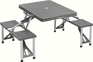 comprar comparacion Cao 4 Camping Table - Mesa para acampada, color gris
