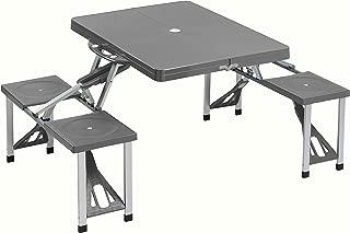 Cao 4 Camping Table - Mesa para acampada, color gris