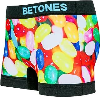 BETONES (ビトーンズ) メンズ ボクサーパンツ MACRO 遊びゴコロとPOPなデザインと最高の履き心地 ローライズ アンダーウェア ジェリービーンズ 彼氏 父 ギフト ブランド 男性 下着 クマ 誕生日 プレゼント