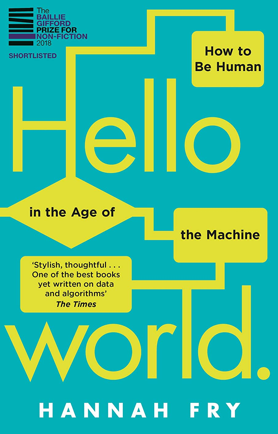 所持過敏な画面Hello World: How  to be Human in the Age of the Machine (English Edition)