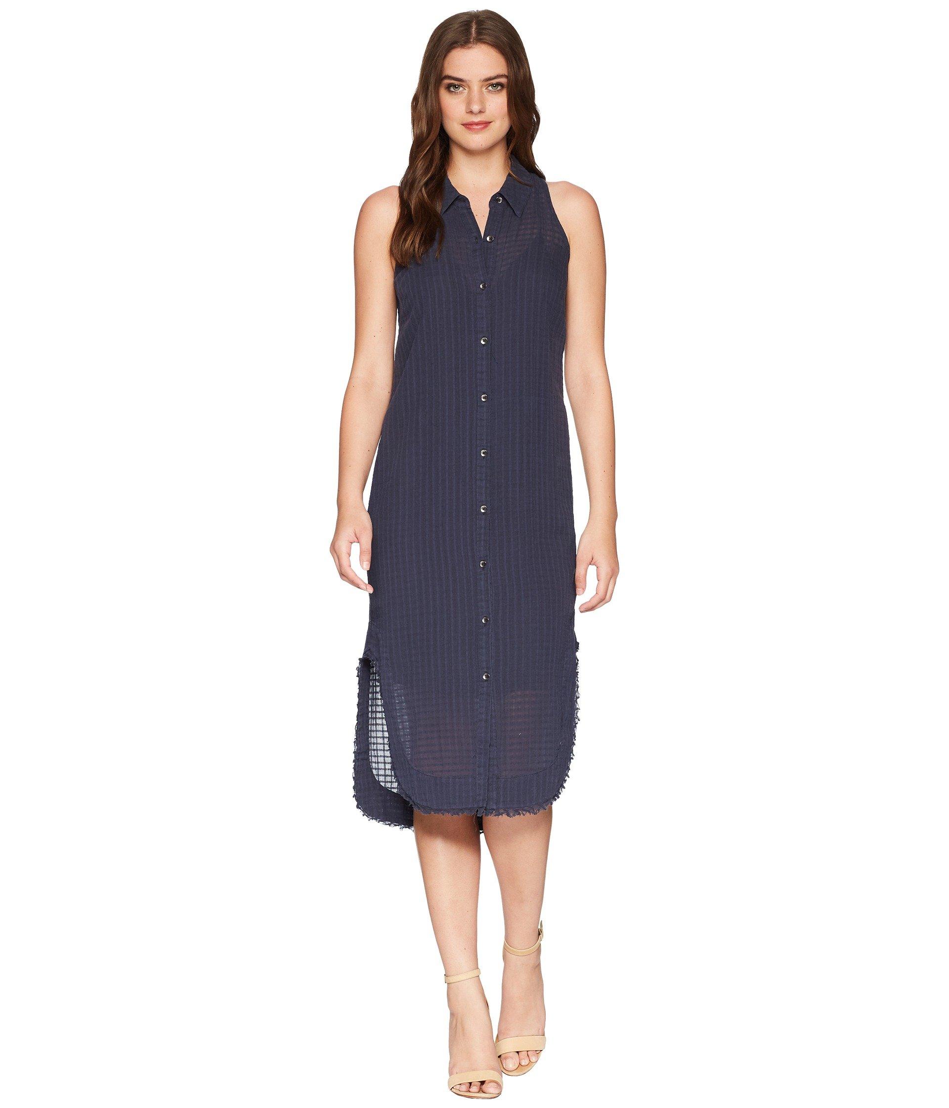Splendid Women's Shirt Dress with Fray