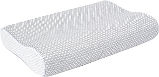 フランスベッド 低反発枕 エアレートピロー スタンダードハード(かため) グレー[洗える枕カバー]