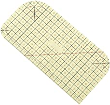 Tailor Craft Ruler DIY Sewing Supplies Fold Patchwork Ruler Measurement Tool for Mark Quilting Ruler 20x10cm Press Deep//Long Hems and Mitered Corners Hot Ironing Ruler Used with Dry//Steam Iron