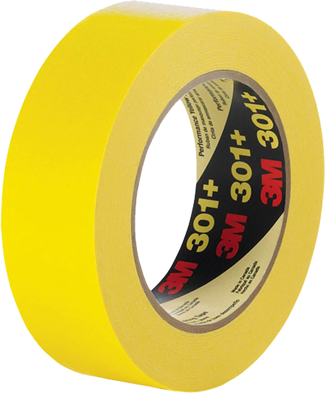 3M 301+ Yellow Max 60% OFF Masking Painter's Tape Packaging Width - mm 24 Max 45% OFF