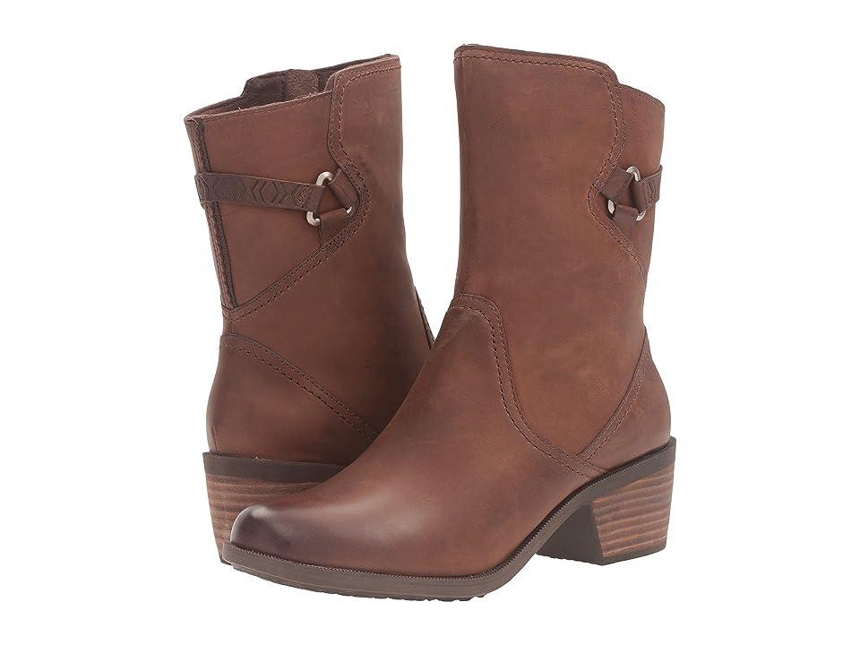Teva Foxy Mid Leather (Brown) Women