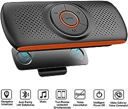 Bluetooth Handsfree Speakerphone for Cell Phone, NETVIP Wireless Car Kit Music Player..