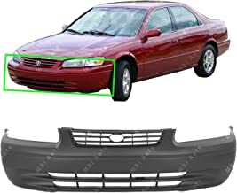 MBI AUTO - Primered, Front Bumper Cover Fascia for 1997 1998 1999 Toyota Camry 97 98 99, TO1000187