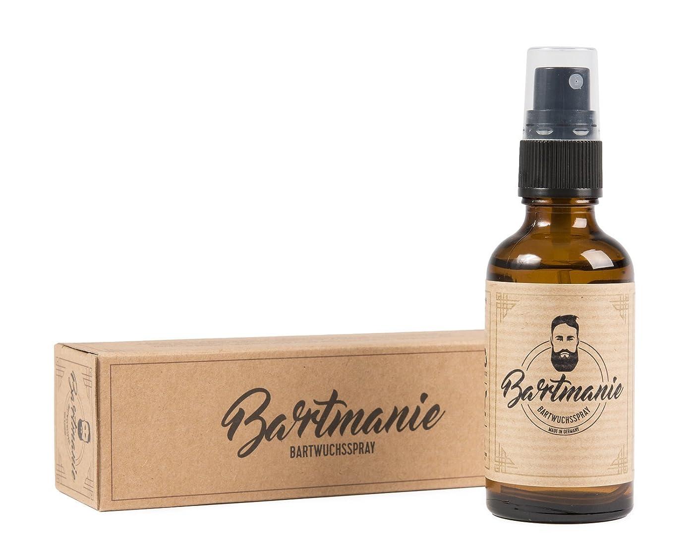 散らす色合い韻Bartmanie Beard Spirit for Beardグルーミングおよびブーストビアード成長、50 ml