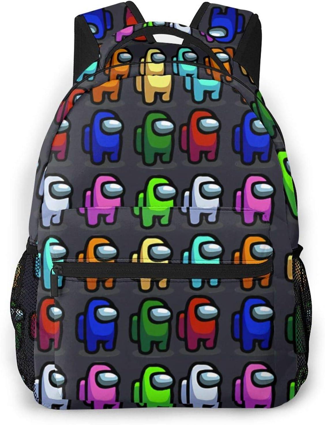 Among Us -02 Among Us Backpack Among Us School Bag Among Us Laptop Bag Among Us Travel Bag Fashionable Awesome Gift