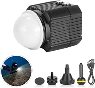 Neewer Underwater Lights Dive Light High Power Fill-in Light 195 Feet Waterproof LED Video Light with 5 Modes Compatible w...