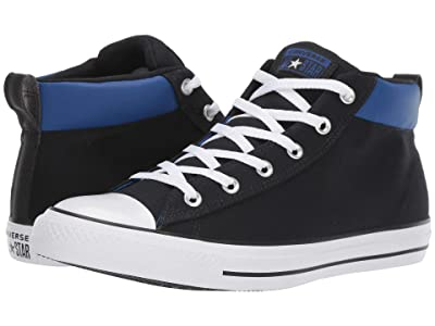 Converse Chuck Taylor All Star Space Explorer Mid (Black/White/Blue) Shoes