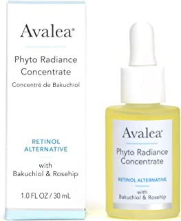 Avalea Phyto Radiance Concentrate with Bakuchiol - Retinol Alternative, 1.0 fl. oz.