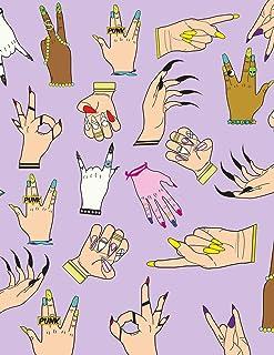 Nail Art Manicurist Notebook Journal Diary