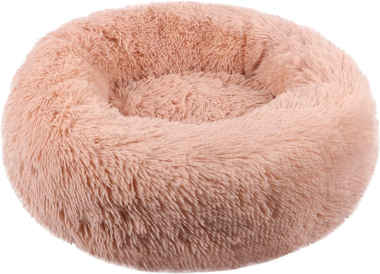 price ZEJEUER Soft Washable Comfortable Pet Bed Round So Sleeping Nest Ranking TOP20