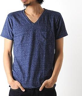 [べルバシーン] Velva Sheen 1パック モックツイスト Vネック Tシャツ 1PAC S/S MOCK TWIST V NECK TEE 161276