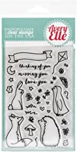Avery Elle Clear Stamp Set, 4 by 6-Inch, More Stories
