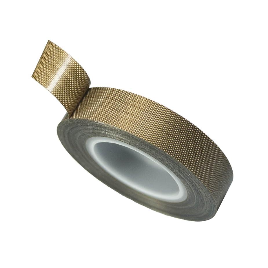 結び目不良バンカー耐熱 PTFE 厚め テフロンテープ 高耐久型 インパルスシーラー補修などに 厚さ0.18mm (幅13mm 長さ5m)