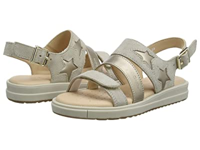 Geox Kids Sandal Rebecca 1 (Little Kid) (Medium Beige) Girl