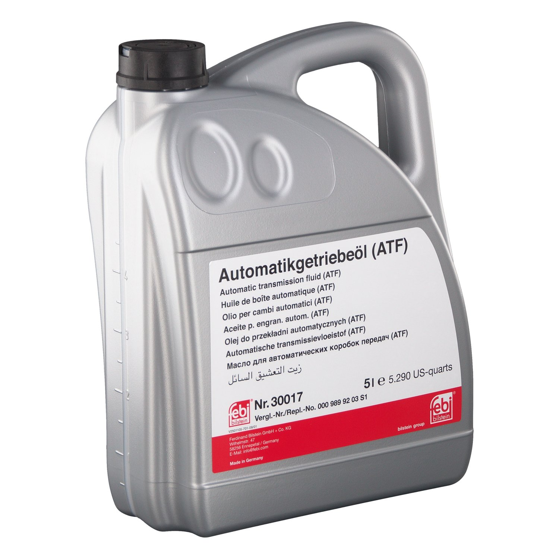 Febi Bilstein 30017 - Aceite para cambio automatico, 5 litros ...