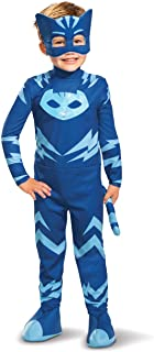 Disguise PJ Masks Catboy Costume, Deluxe Kids Light Up Jumpsuit Outfit and Character Mask, Toddler Size Large (4-6)