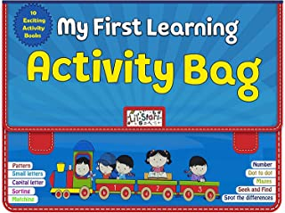 Laster Early Learning Activity Bag - Set of 10 Exciting Books for kids , Skill development Mind Sharping Set of books for ...