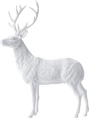 Taste Taiwan Design Bucks Paperweight-White, Resin, 15.5 x 5.5 x 20.5 cm