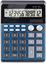 $54 » Z-Color Multi-Function 12 Digit Extra Large Display, Dual Power Standard Function Electronic Portable, Desktop Calculator ...