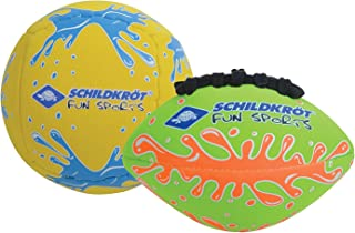 Schildkröt Funsports Mini Duo Pack, 1 Volley Ball and 1 Football, Diameter 9 cm, Easy Grip and Salt Water Resistant, Ideal...