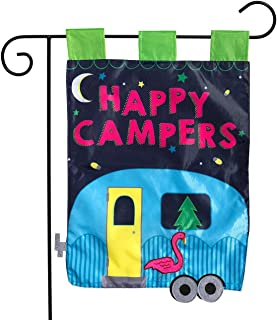 happy camper applique