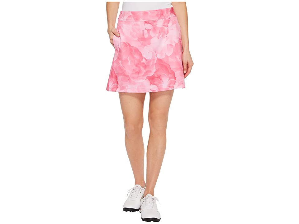PUMA Golf Bloom Skirt (Shocking Pink) Women