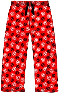 Mens Manchester United/Man Utd Red Lounge Pants Pyjama Bottoms Pyjamas Size S, M, L, XL