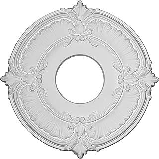 Ekena Millwork CM12AT Attica Ceiling Medallion, 12 3/4