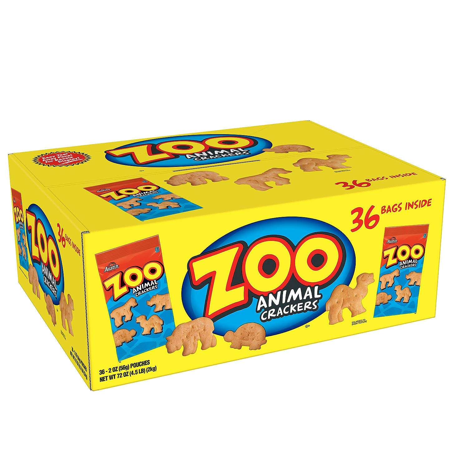 Austin Zoo Animal Crackers Financial sales sale 36 Individually Packages Oz Each of NEW before selling 2