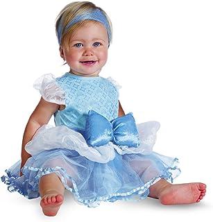 أزياء ديزني برينسيس سندريلا للأطفال الرضع من ديسجايز أزرق\أبيض 12-18 Months