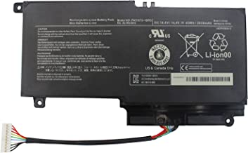 Vinpera PA5107U-1BRS Laptop Battery for Toshiba Satellite L45 L45D L50 S55 S55T L55 P50 P50t-B S55-A5176 S55-A5188 P55-A5312 P55T-A5118 P55T-A5202 S55-A5295 S55-A5279 P55-A5200 -[Three Months Refund]