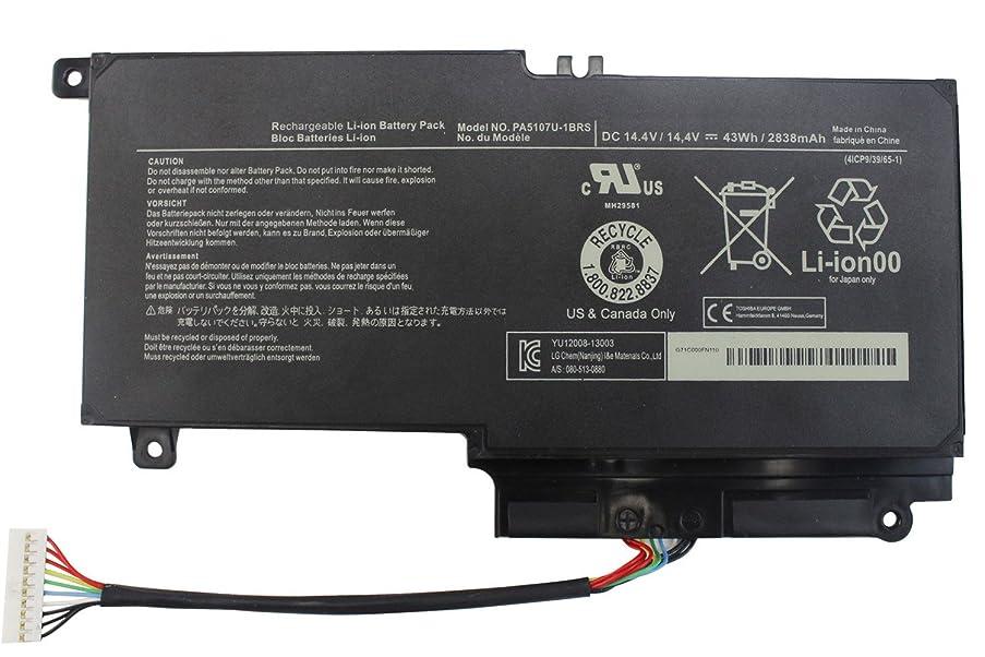 FLYTEN PA5107U PA5107U-1BRS Battery for Toshiba Satellite P50 P50-A P55 P55-A5200 P55-A5312,Satellite L50 L55 L55D L55-A5226 L55-A5284,Satellite S55 S55-A5188 S55-A5167 12 Months Warranty