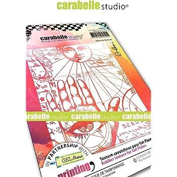 CARABELLE STUDIO APCA60036 RUBBER TEXTURE PLATE MADAM