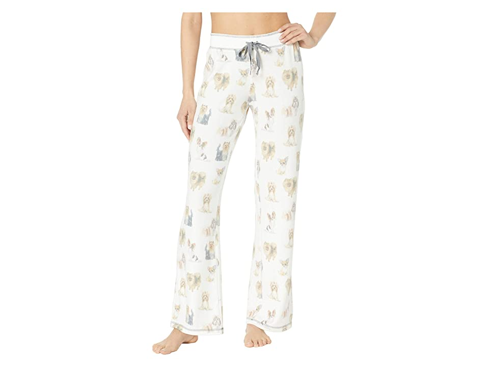 P.J. Salvage Pawsitively Spoiled Pants (Ivory) Women