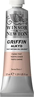Winsor & Newton Griffin Alkyd Fast Drying Oil Colour Paint, 37ml tube, Flesh Tint