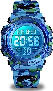 Kids Digital Sports Watch for Boys Girls, Boy Waterproof...