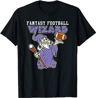 Funny Fantasy Football Wizard Party League Champion T-Shirt
