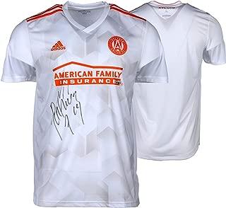Josef Martinez Atlanta United FC Autographed White Adidas Replica Jersey - Fanatics Authentic Certified