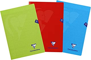 , DIN A5, 3/columnas, 40/hojas /Cuaderno Clairefontaine 74226/C/