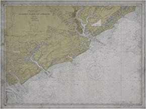 """Archive Print Co. Charleston Map 