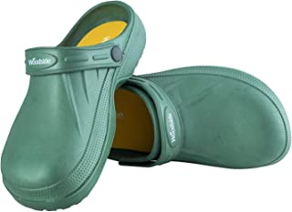 Woodside Men's/Women's Slip On Garden Clog Mule Work Shoes